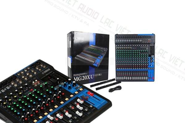 Mixer Yamaha MG20XU đẹp tại Lạc Việt audio