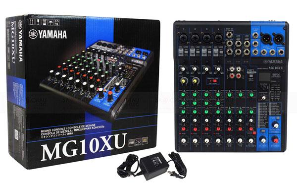 hình ảnh chi tiết bàn mixer yamaha MG 10XU
