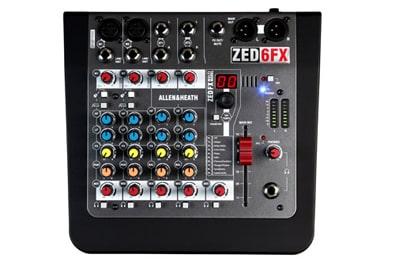 Bàn mixer ZED FX6 chất lượng cao, giá rẻ nhất