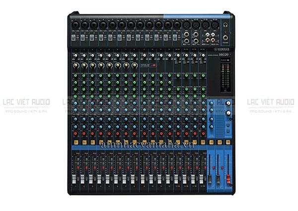 Mixer có công suất Yamaha MG20: 9.000.000 VNĐ