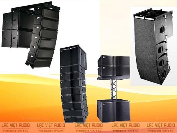 Loa array được sử dụng ngày càng phổ biến