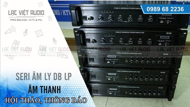 Mua amply DB uy tín và chất lượng tại Lạc Việt Audio