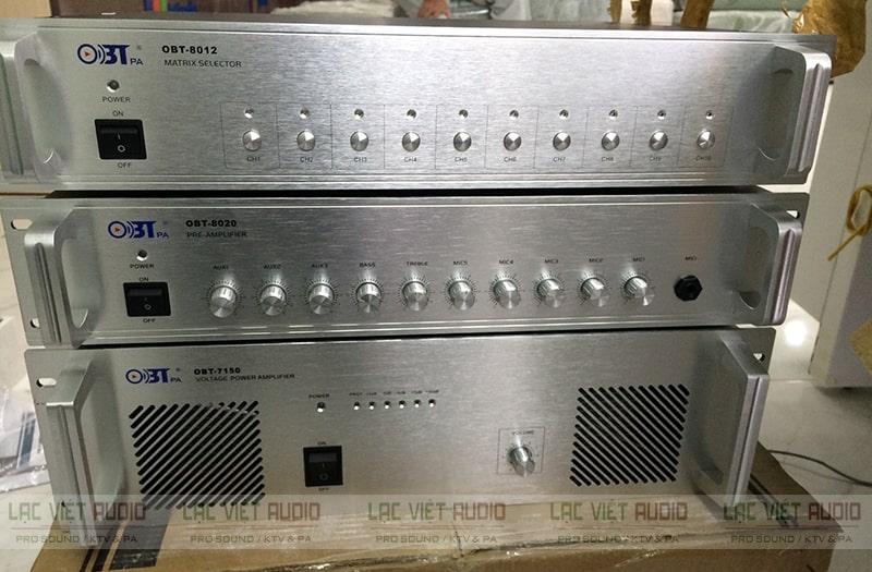 Mua amply OBT chính hãng tại Lạc Việt Audio