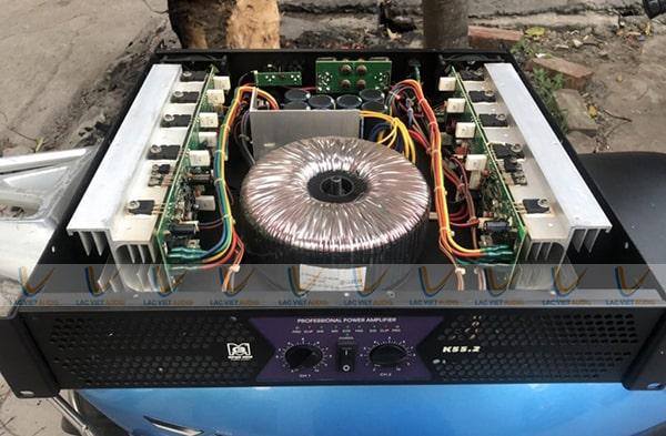 Mua cục đẩy công suất bãi Morgan K55.2 chất lượng giá rẻ tại Lạc Việt Audio