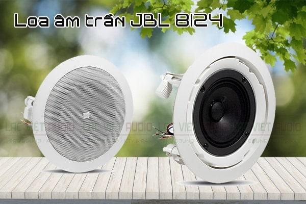 Mua loa âm trần JBL 8124 chính hãng giá tốt tại Lạc Việt Audio