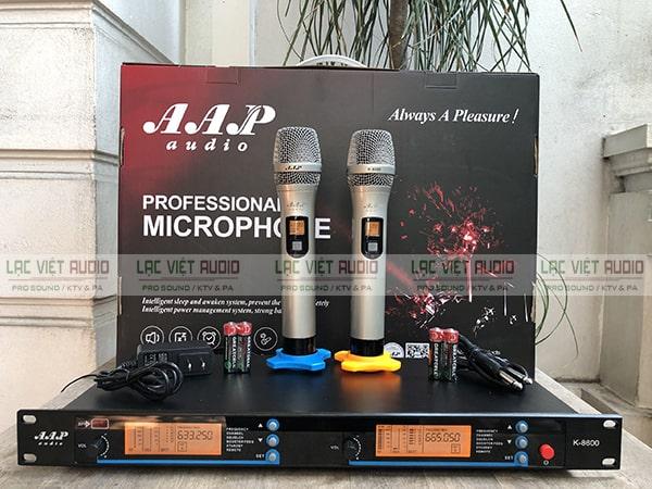 Mua các sản phẩm micro không dây AAP chính hãng giá tốt tại Lạc Việt Audio