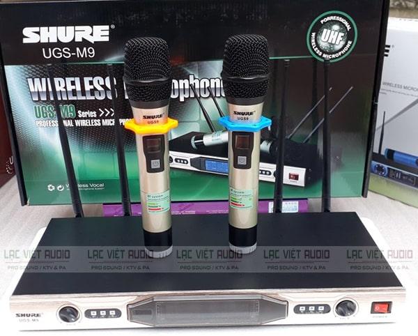 Mua micro không dây Shure chất lượng cao tại Lạc Việt Audio