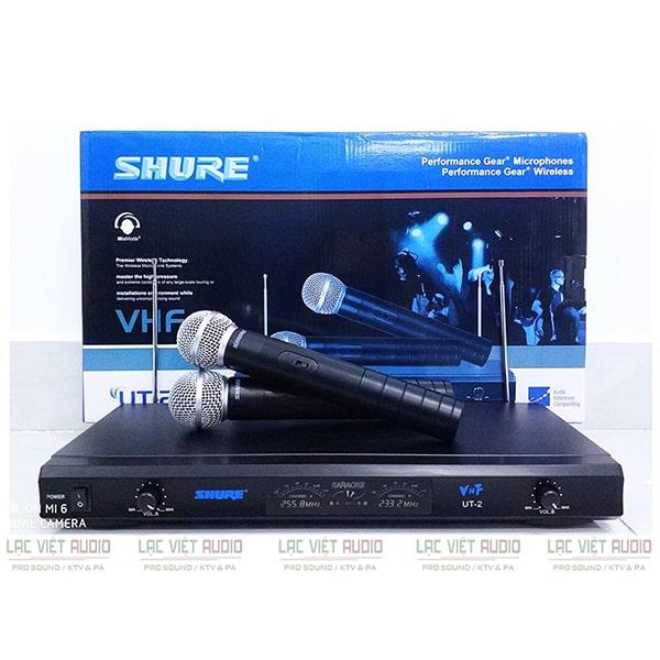 Mua micro không dây SHURE UT2 chất lượng uy tín tại Lạc Việt Audio