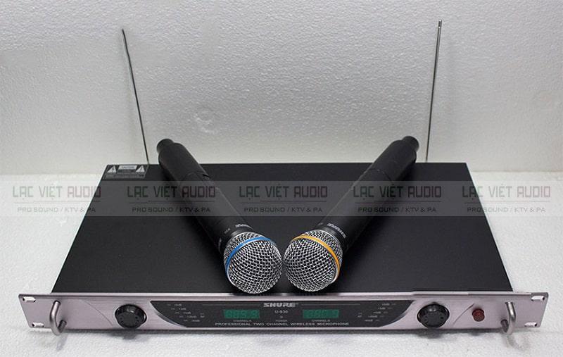 Mua micro Shure U930 chính hãng giá rẻ tại Lạc Việt Audio