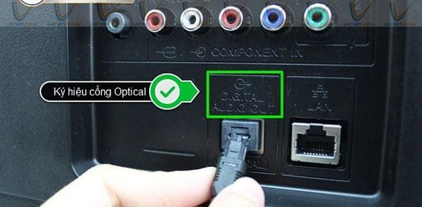 Vang cơ lai số giá rẻ có kết nối cổng quang (cổng optical)