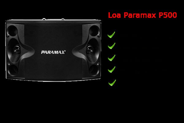 Loa paramax P500