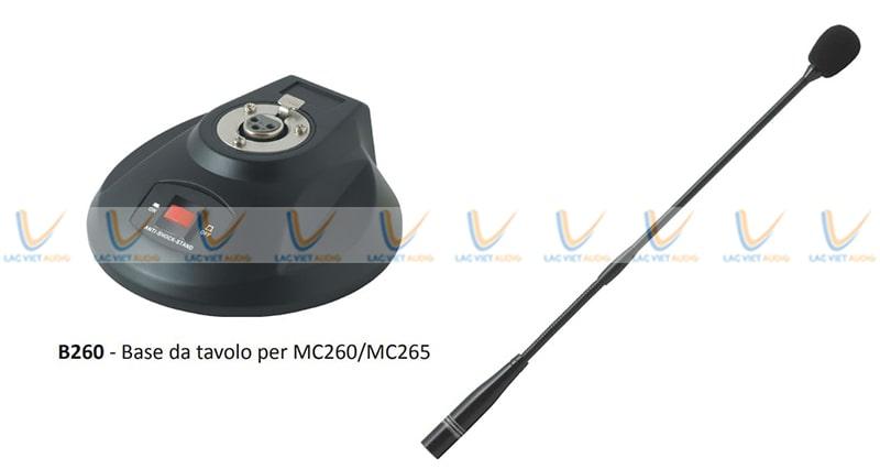 Paso MC265 thích hợp với chân đế micro Paso B260