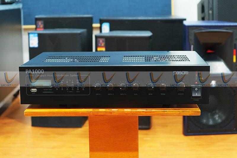 Amply liền mixer PASO PA1060