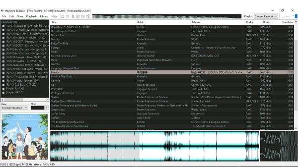 phần mềm làm nhạc Lossless FOOBAR200