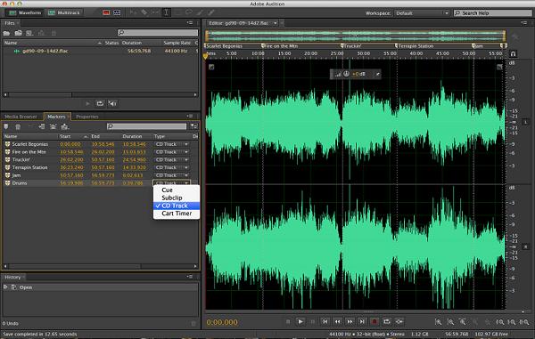 Phần mềm chỉnh sửa nhạc Ocenaudio