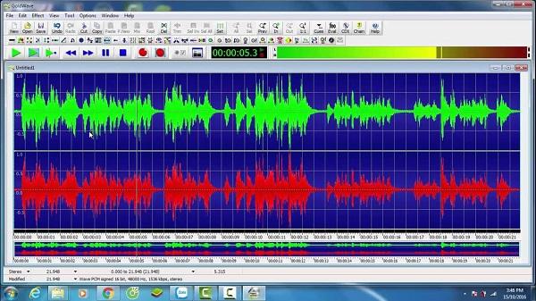 phần mềm chỉnh sửa nhạc Wavosaur