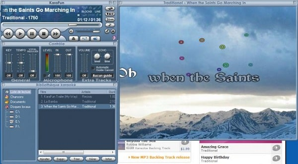 Phần mềm hát karaoke trên máy tính Karafun Player