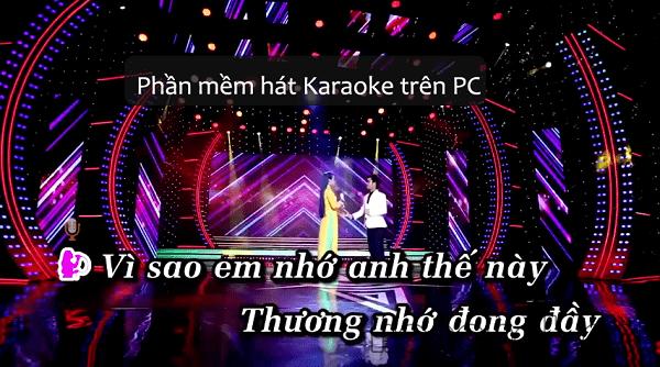 Phần mềm hát karaoke online trên PC, Laptop - Youtube