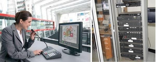 Các thiết bị xử lý trung tâm trong hệ thống âm thanh công cộng
