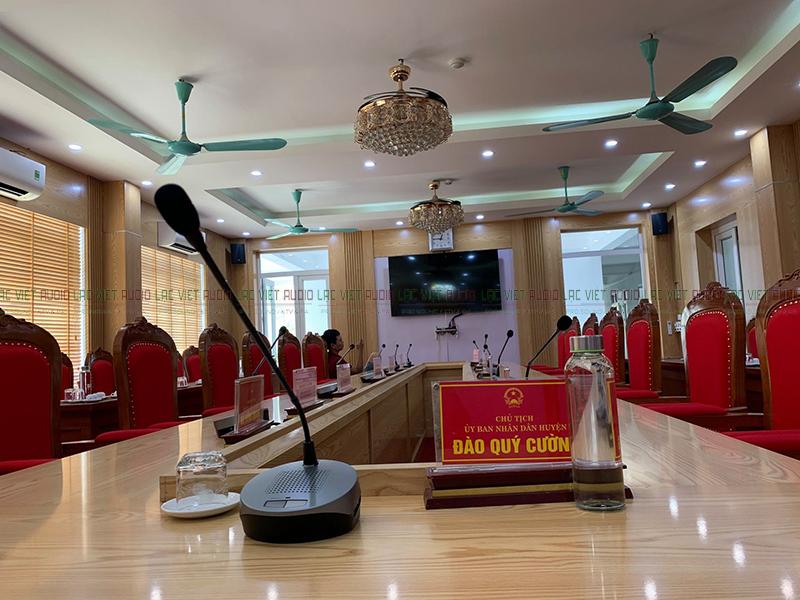 âm thanh phòng họp ủy ban Đoan Hùng