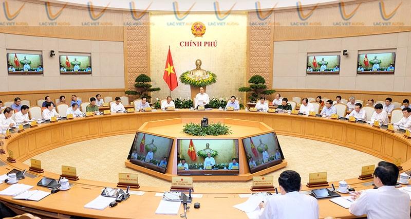 Phòng họp trực tuyến chính phủ