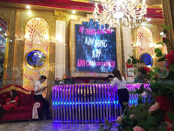 Quán karaoke KIM SONG tại TP. Điện Biên