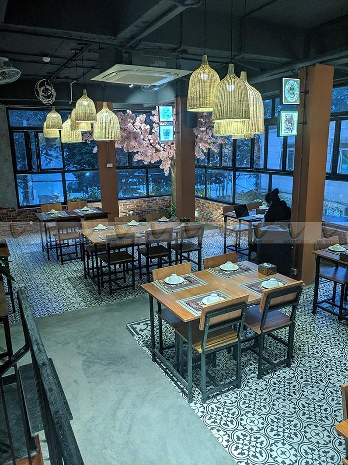 Không gian đẹp mắt của nhà hàng :3Zan Beer Club
