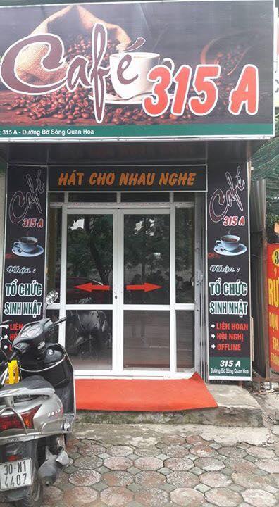Quán karaoke 315A Quan Hoa - Cầu Giấy - Hà Nội