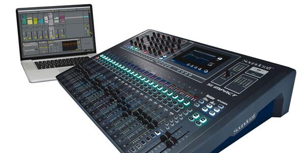 Soundcraft SI Impact Digtal mixer mang kiểu dáng hiện đại