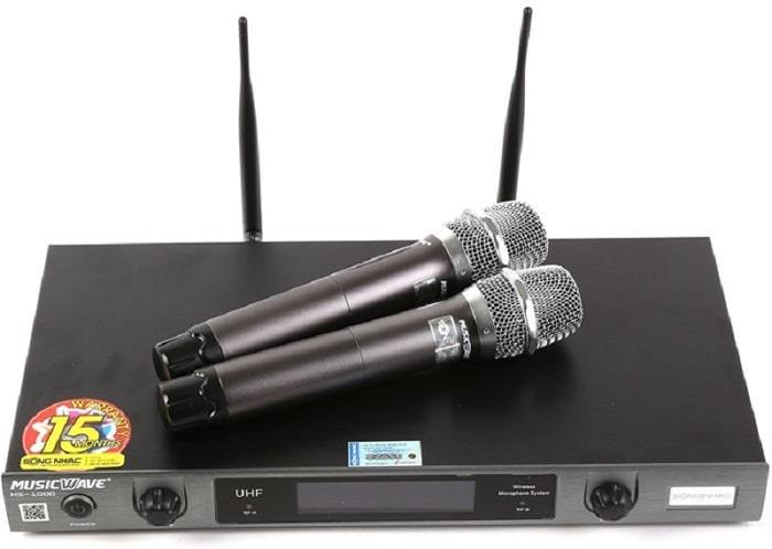Ưu điểm khi sử dụng sóng VHF trên micro không dây