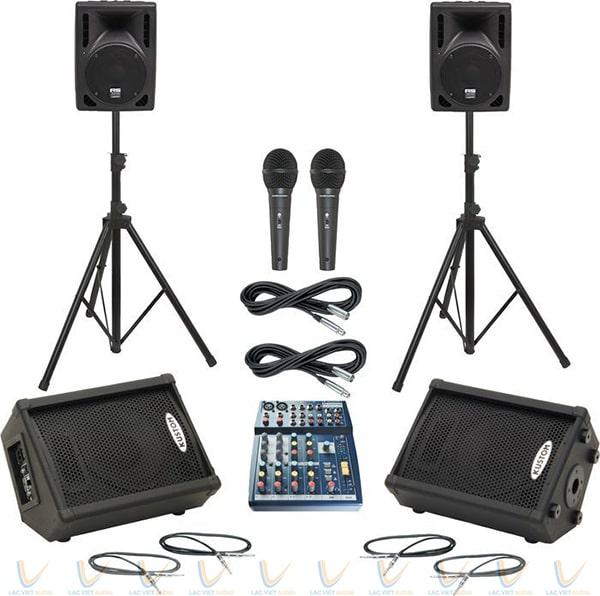 Soundcraft Notepad102 kết hợp được với nhiều thiết bị âm thanh