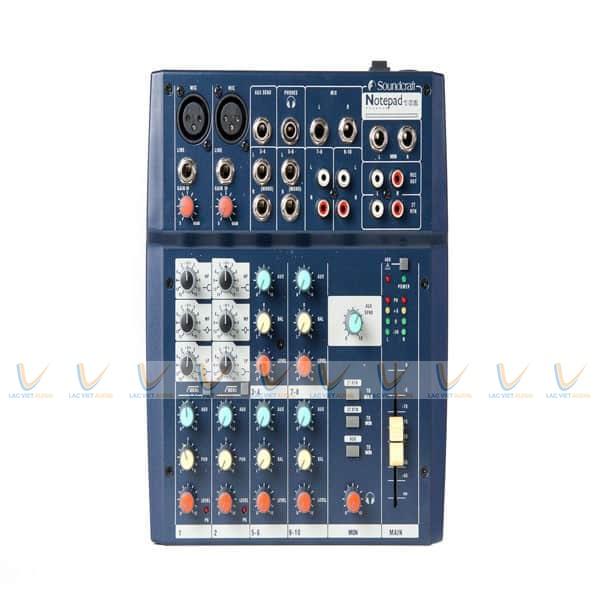 Mixer Soundcraft Notepad102