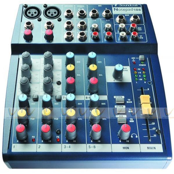 Hệ thống điều chỉnh của mixer