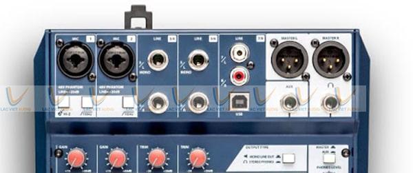 Mixer Soundcraft Notepad 8FX dễ dàng tùy chỉnh