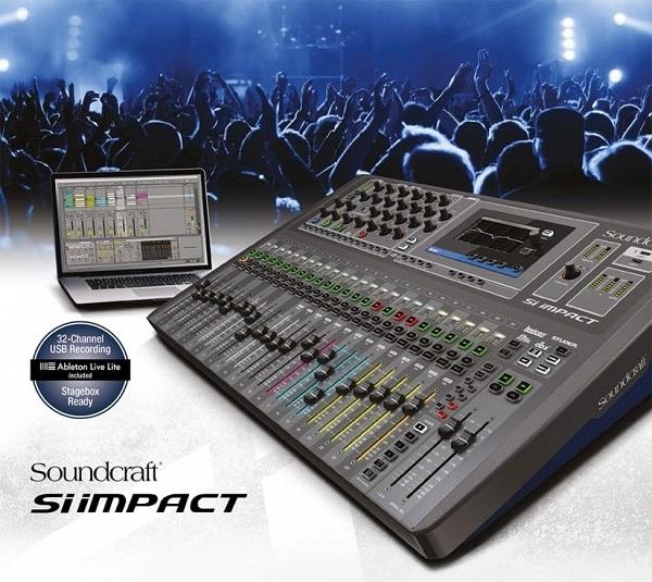Soundcraft SI Impact- thương hiệu nổi tiếng hàng đầu thế giới