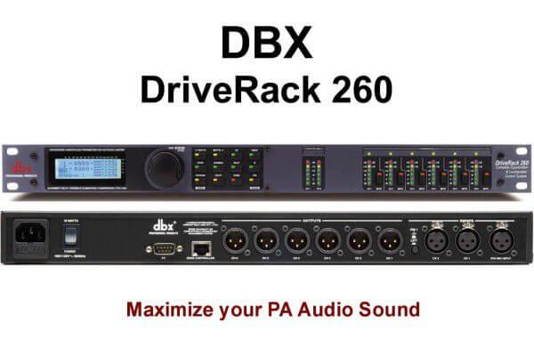 Tính năng sản phẩmDriver Rack PA260