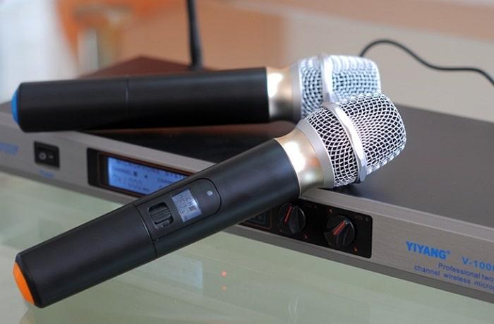 Micro không dây VHF