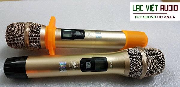 Tay micro không dây BFAudio thiết kế đơn giản, gọn nhẹ, bền chắc