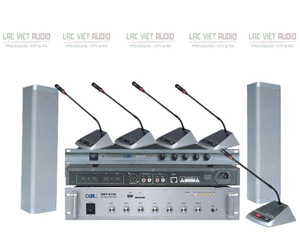 Hệ thống thiết bị âm thanh phòng họp OBT 3000 chất lượng cao