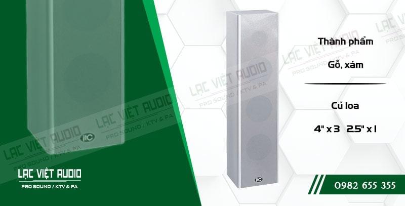 Loa cột ITC T303 có công suất lớn và hiệu suất làm việc cao