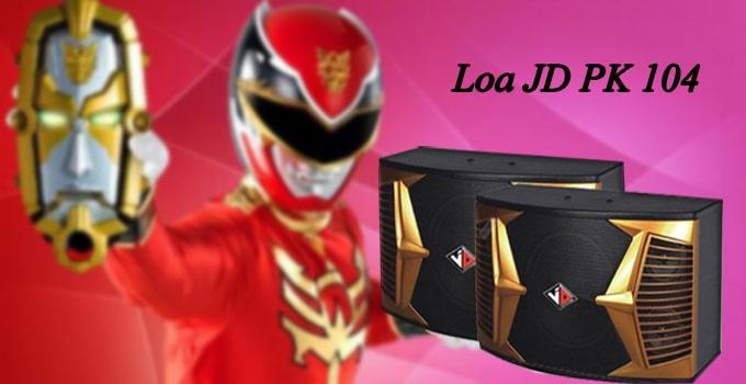 Loa JD PK-104 thiết kế độc đáo