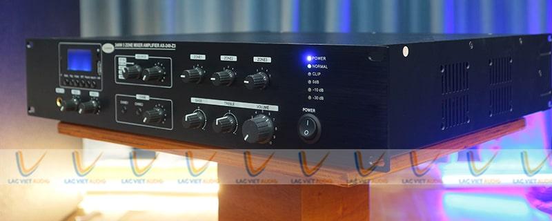 Thiết kế của Amply Asima AX-240-R3 vô cùng tinh tế