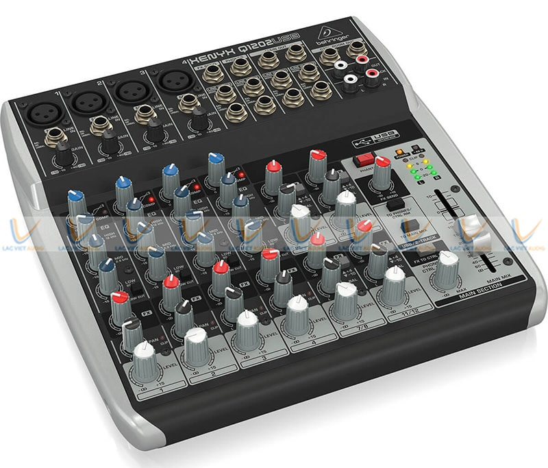 Thiết kế Mixer Behringer Xenyx Q1202USB nhỏ gọn