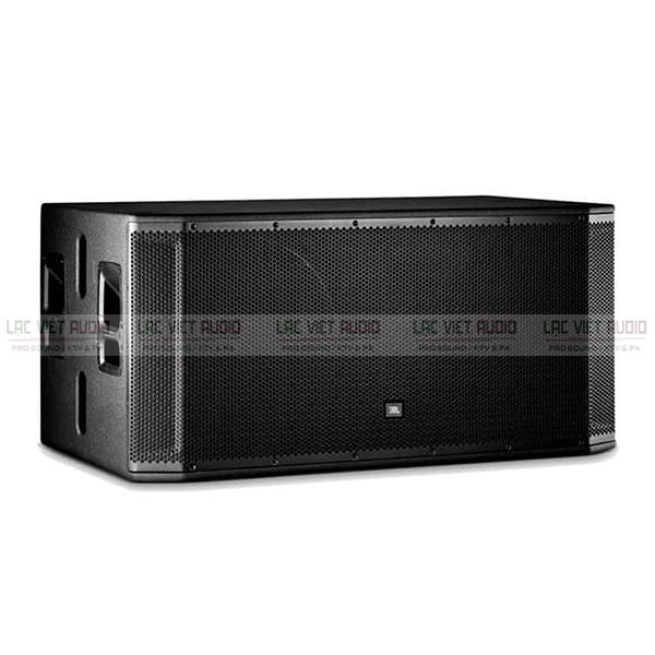 Loa sub JBL SRX 828SP có thiết kế nổi bật và hiện đại