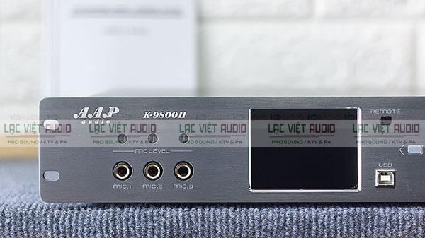 Thiết bị cho khả năng xử lý âm thanh tốt và hiệu suất hoạt động cao
