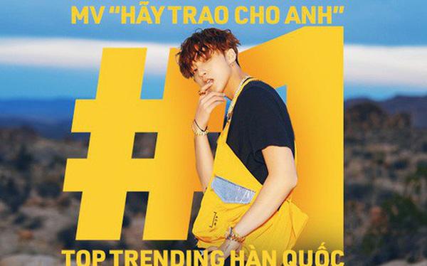 Thành tích Top1 Trending Hàn Quốc