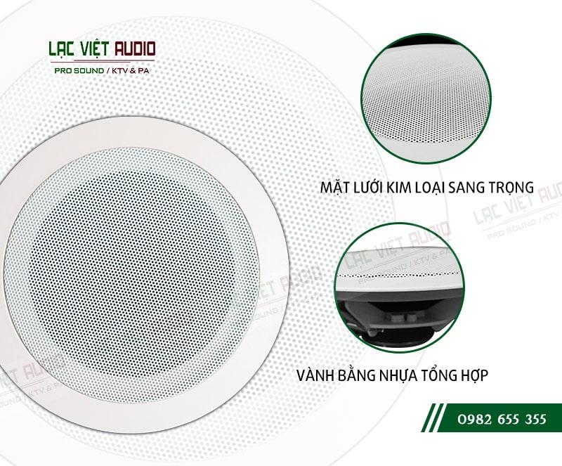 Thiết kế tinh tế, tuyệt đẹp của loa DB TS 302 tại lạc Việt audio