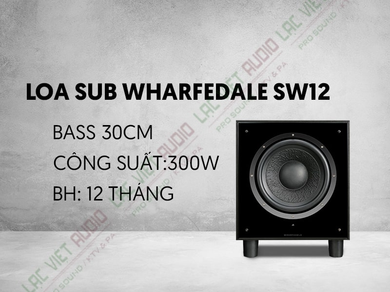 Loa Sub Wharfedale SW12.