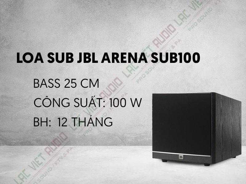 Loa Sub JBL Arena SUB100