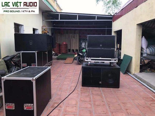 Tủ đựng loa array chuyên nghiệp